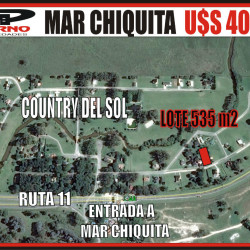 MAR CHIQUITA - COUNTRY DEL SOL 40000