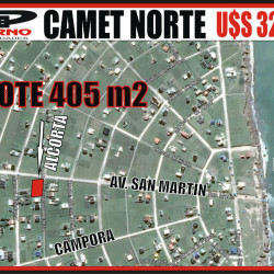 CAMET NORTE - ALCORTA ESQ. S.