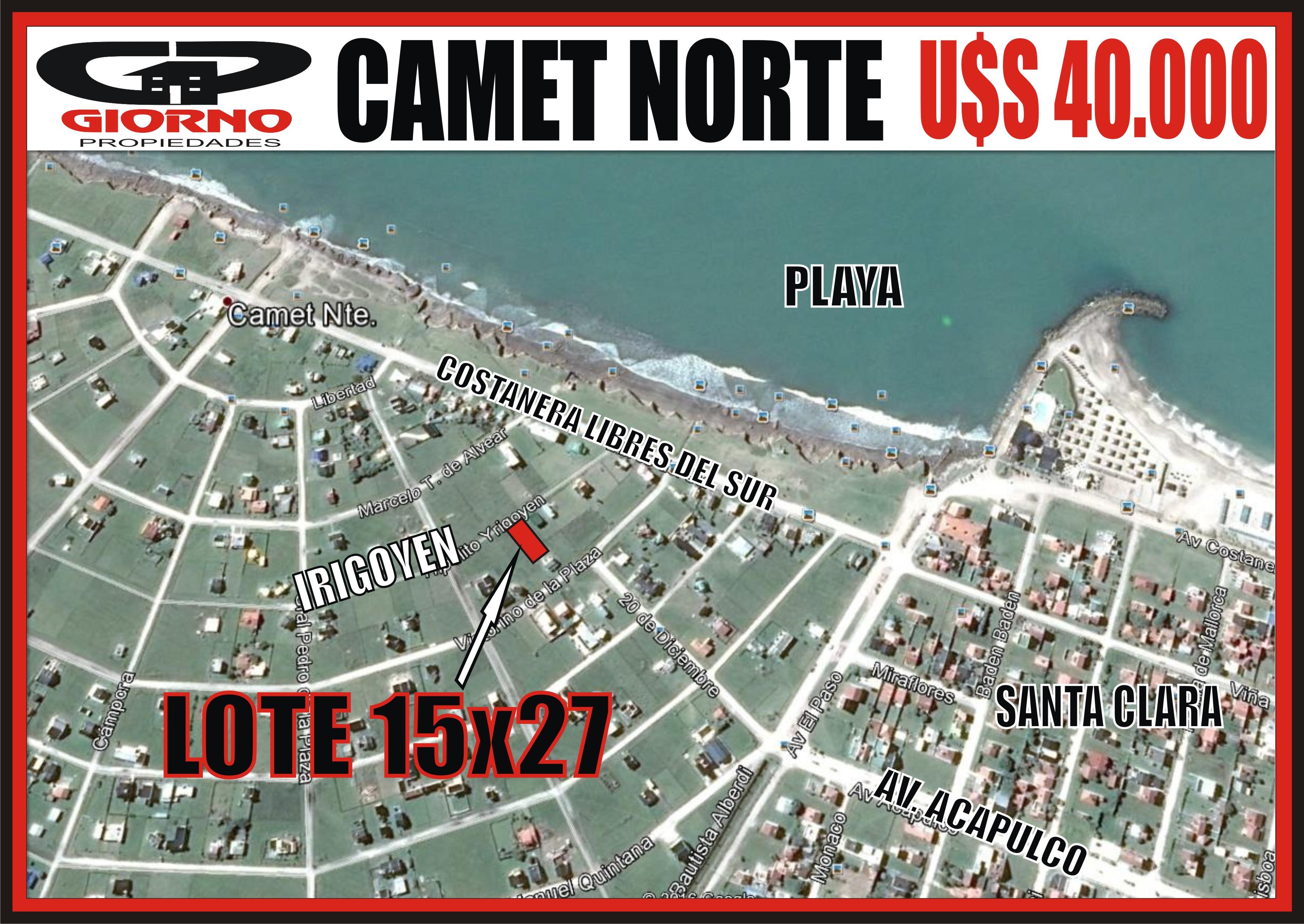 NEW CAMET NORTE IRIGOYEN E.